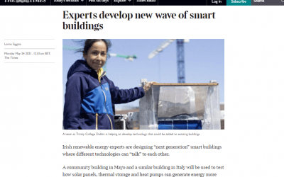 IDEAS Coverage in The Times